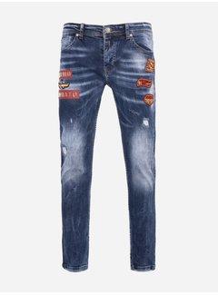 Mario Mora Shorts 2173 Blue
