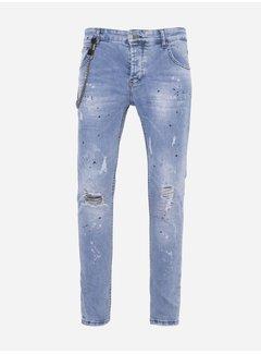 Wam Denim Jeans 298 Blue WACHT OP FOTO