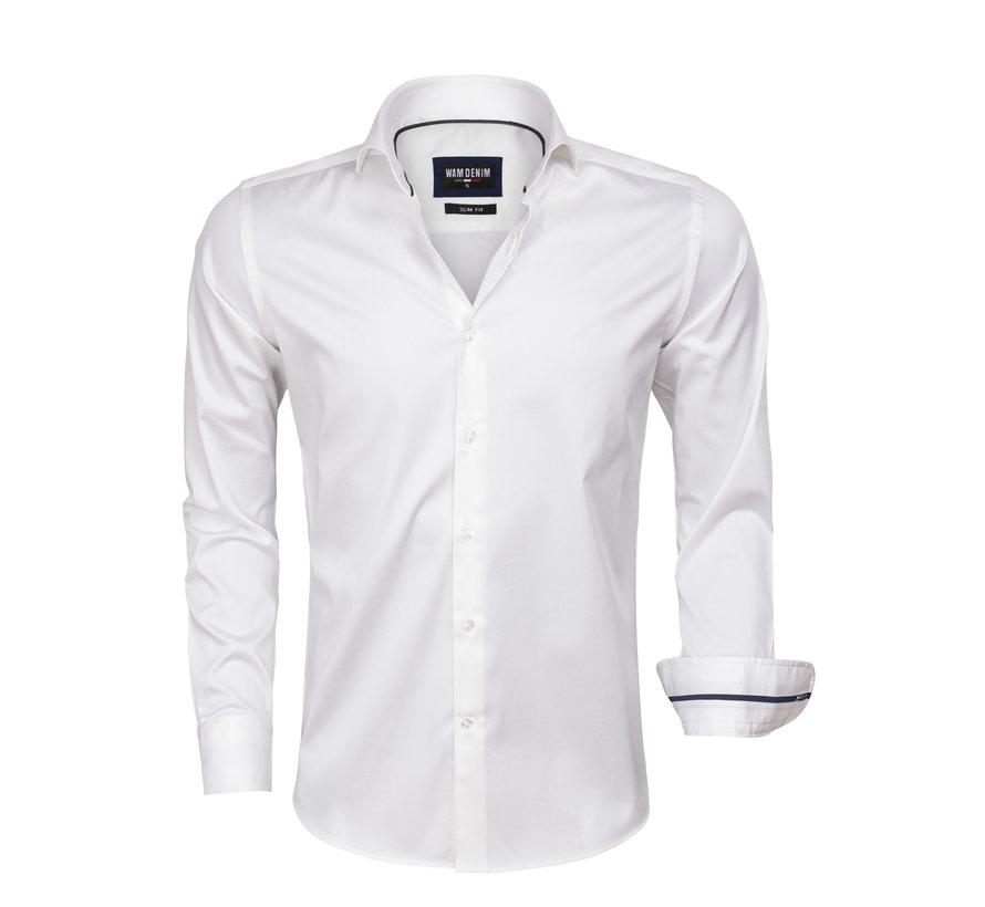 Overhemd Lange Mouw White 75478