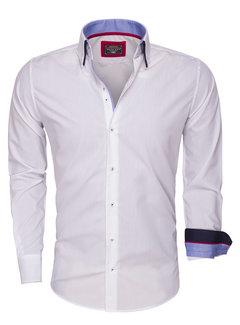 Wam Denim Shirt Langs Leeve 85272 White