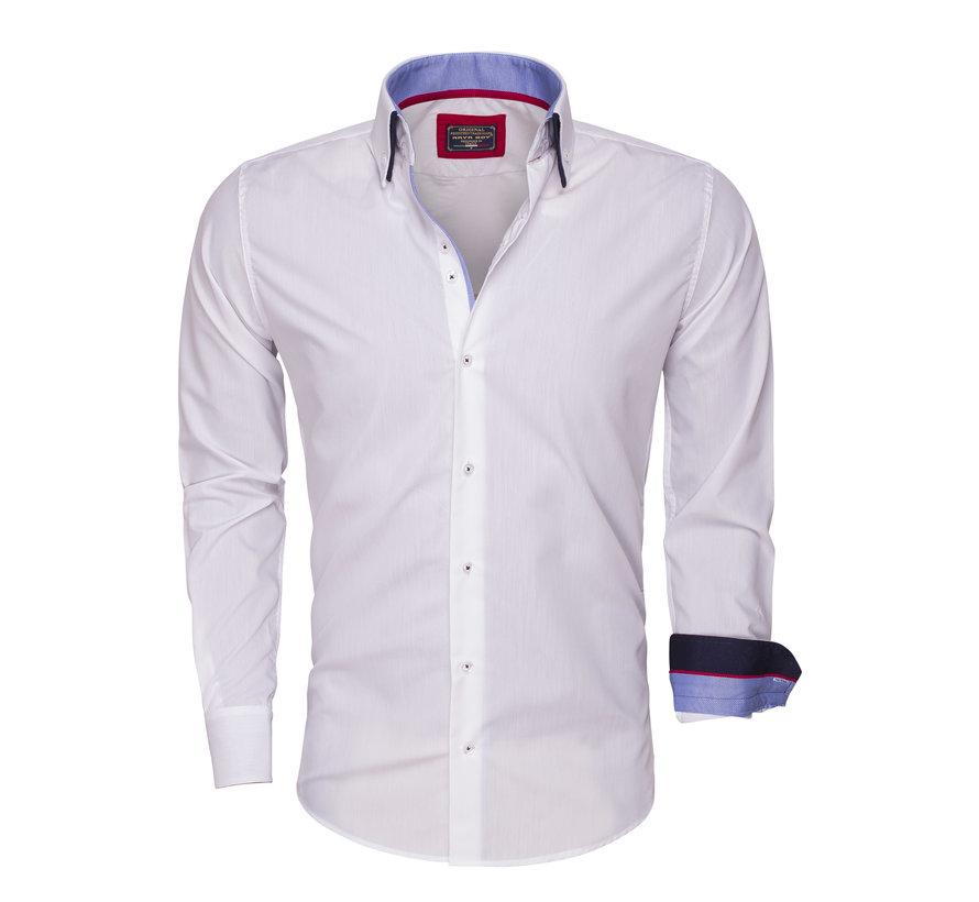Overhemd Lange Mouw  85272 White