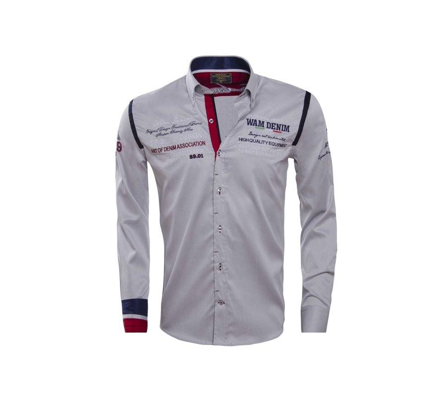 Shirt Langs Leeve 75165 Gray