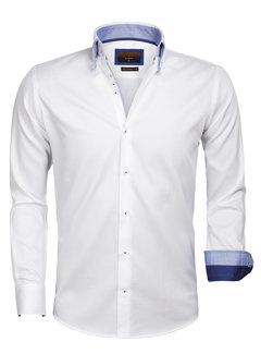 Gaznawi Overhemd  Lange Mouw 65004 White