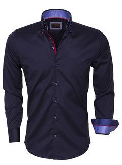 Wam Denim Shirt Langs Leeve 75396 Dark Navy