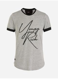 Wam Denim T-Shirt Nesselande Grey