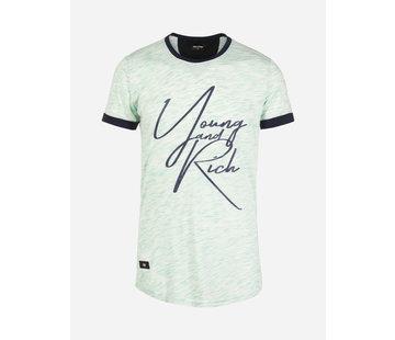 Wam Denim T-Shirt Nesselande Menthol