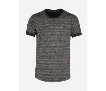 Wam Denim T-Shirt Nesselande Black White