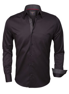 Wam Denim Shirt Langs Leeve 75347 Black