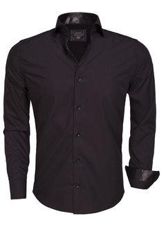 Arya Boy Shirt Langs Leeve 85239 Black