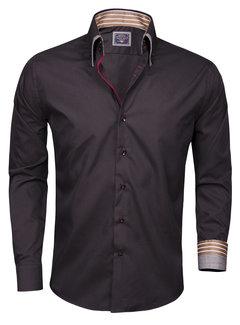 Arya Boy Shirt Langs Leeve 85207 Black