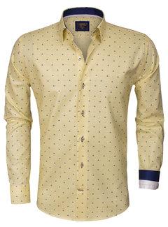 Wam Denim Overhemd Lange Mouw75273 Yellow