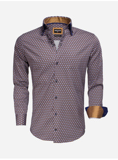 Wam Denim Long Sleeve Shirt 75532 Navy Peru