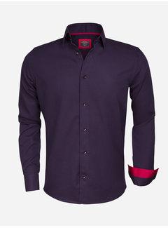 Wam Denim Overhemd Lange Mouw 75356 Navy