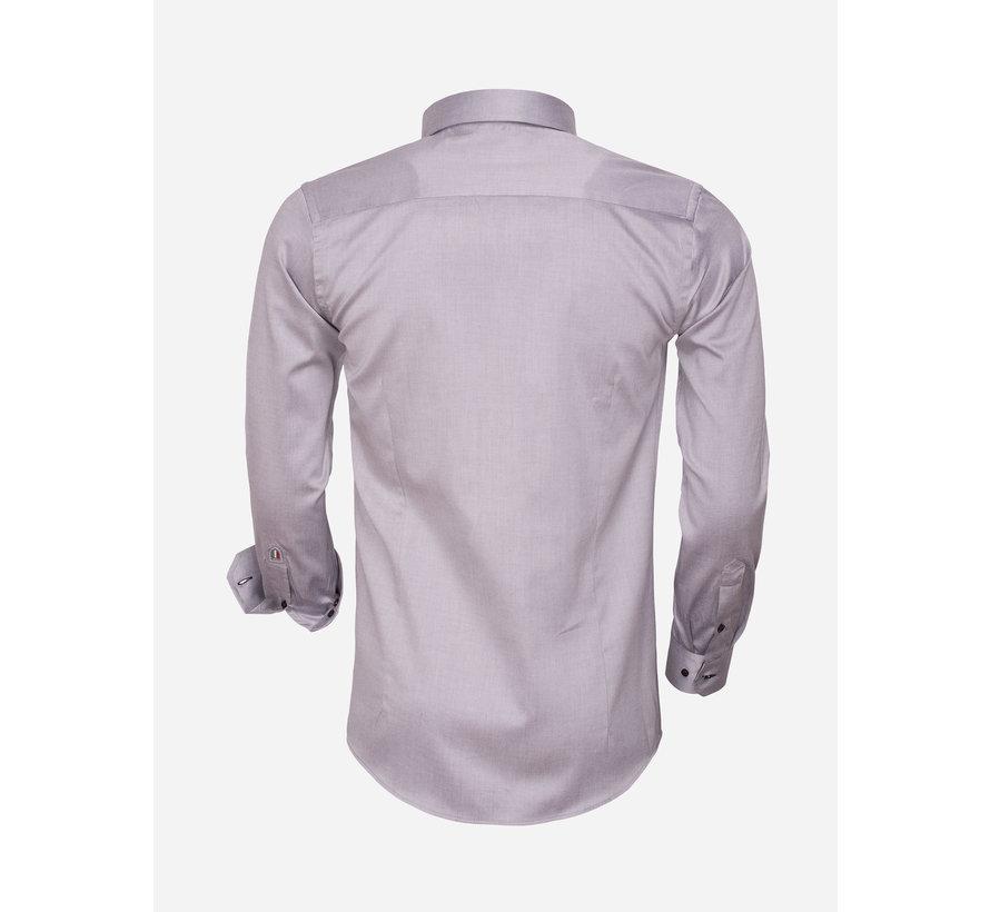 Shirt Langs Leeve 75394 Grey