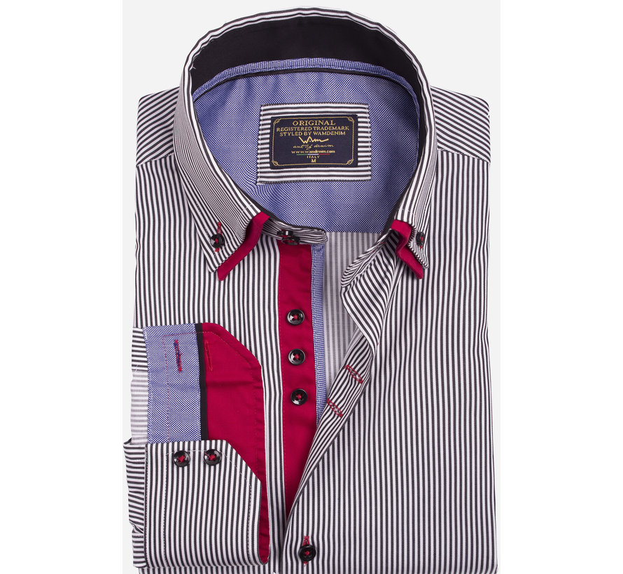 Overhemd  75395 Black