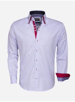 Wam Denim Overhemd Lange Mouw  75395 Light BLue