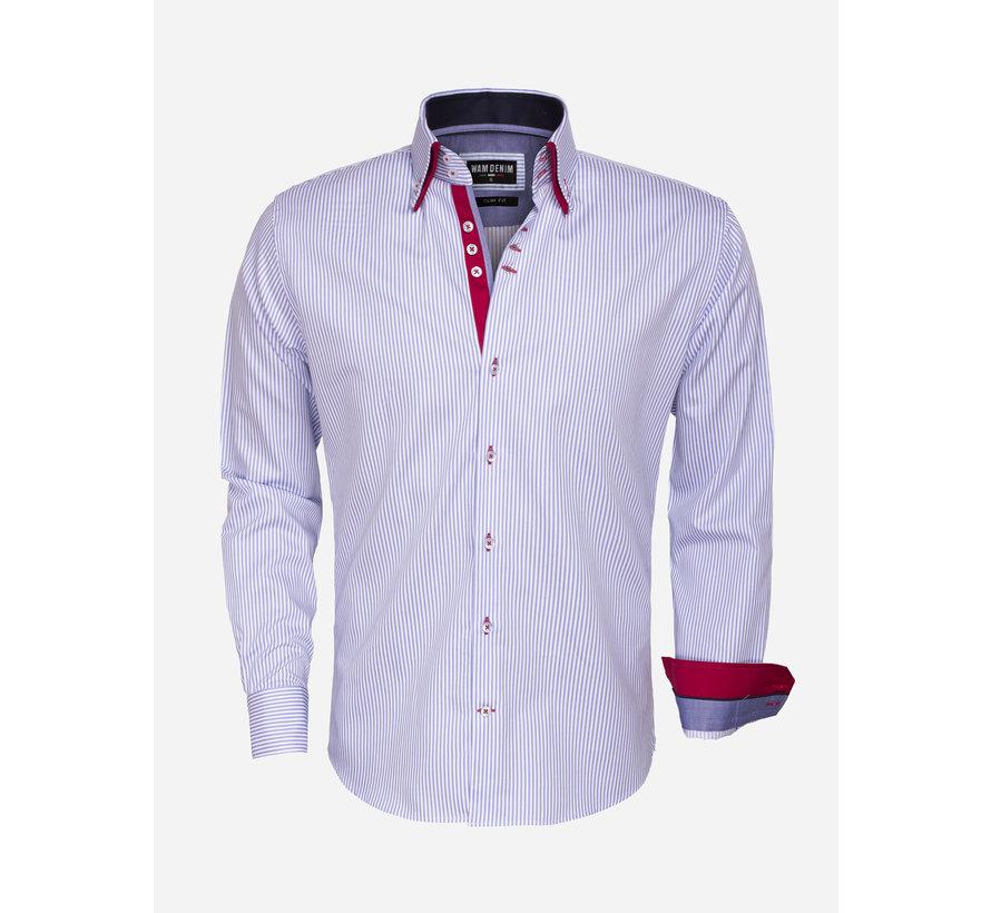 Shirt Langs Leeve 75395 Light BLue