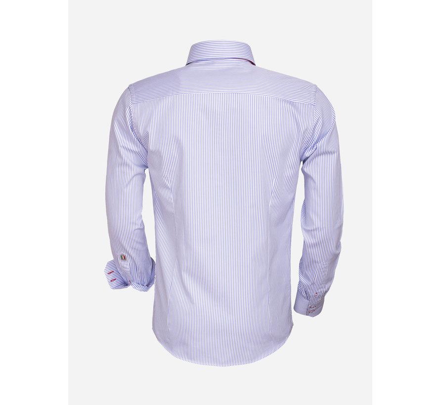 Overhemd Lange Mouw  75395 Light BLue