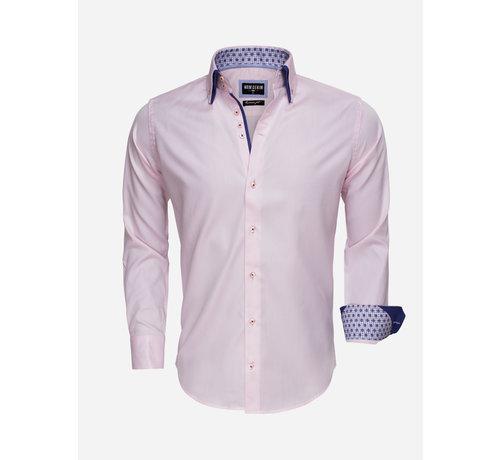 Wam Denim Overhemd Lange Mouw 75500 Pink