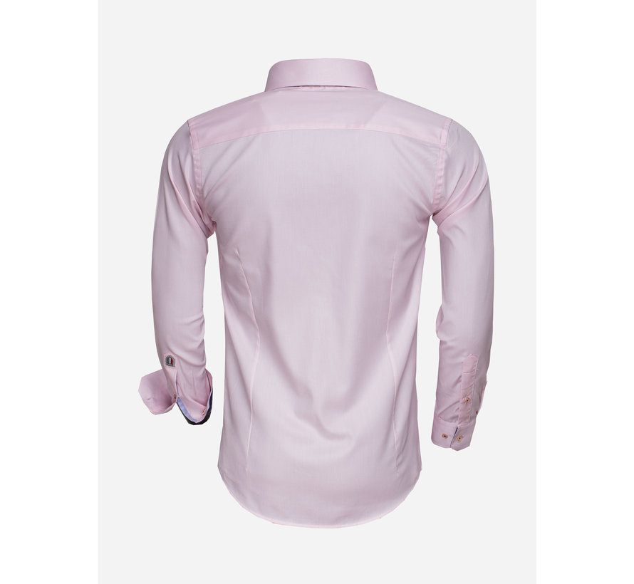 Overhemd Lange Mouw 75500 Pink