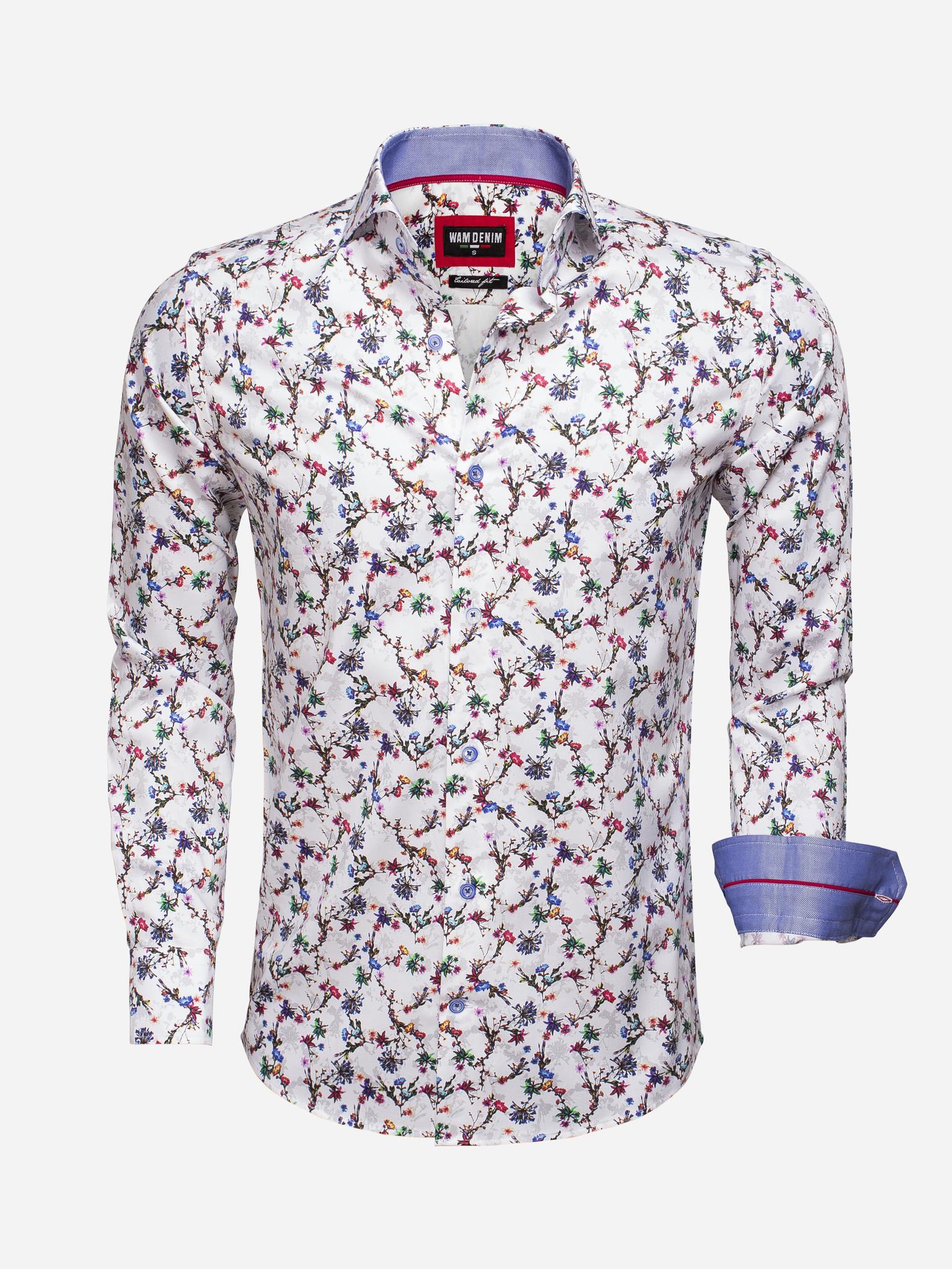 Wam Denim Shirt Long Sleeve  Maat: S