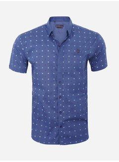 Arya Boy Shirt Short Sleeve  17Y1465 Navy