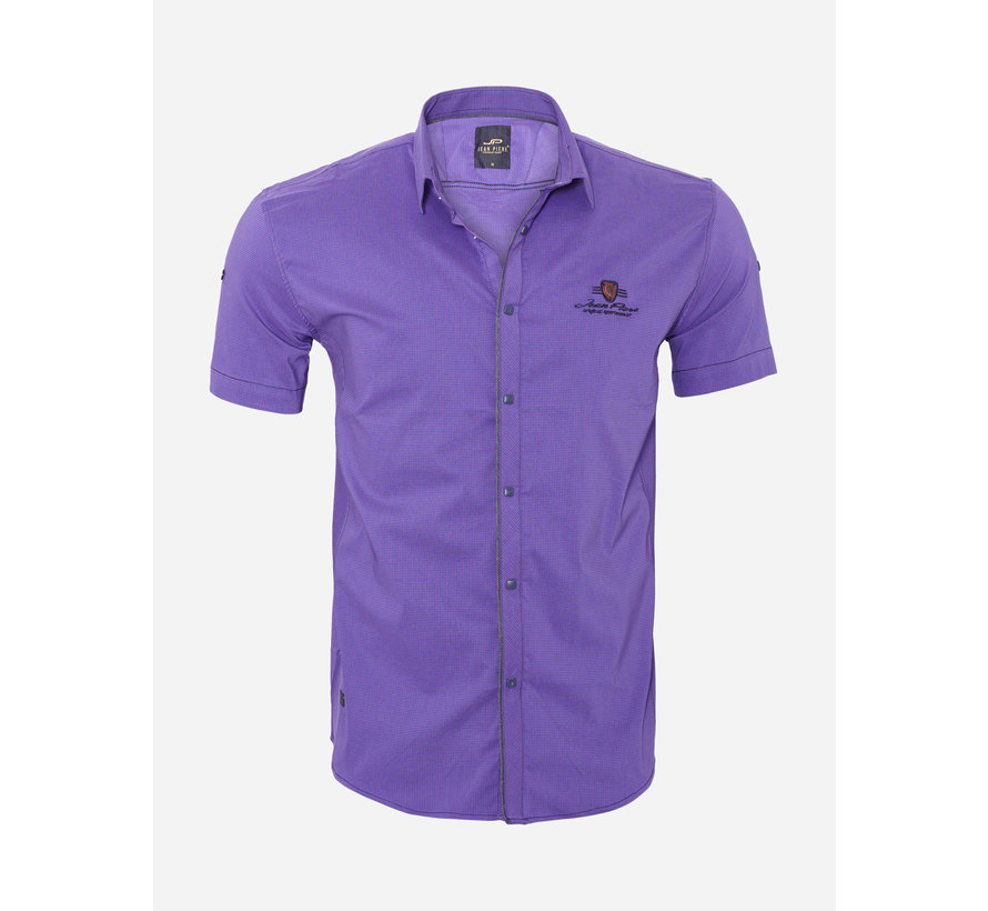 Overhemd Korte Mouw 18Y8524 Fuchsia