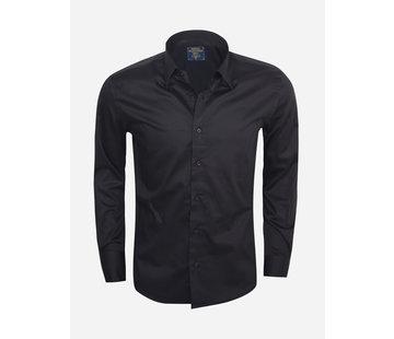 Wam Denim Overhemd  75185 Black