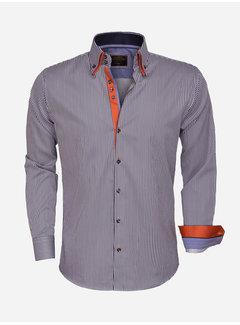 Wam Denim Shirt Langs Leeve 75395 Navy