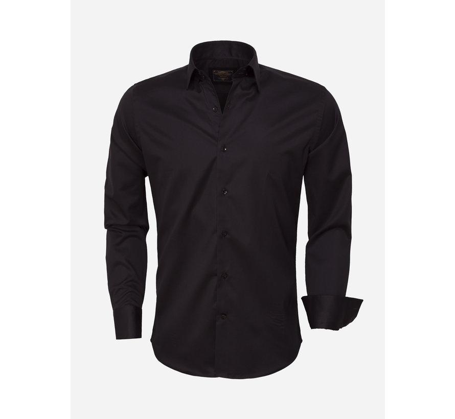 Blouse Longsleeve  75420 Black