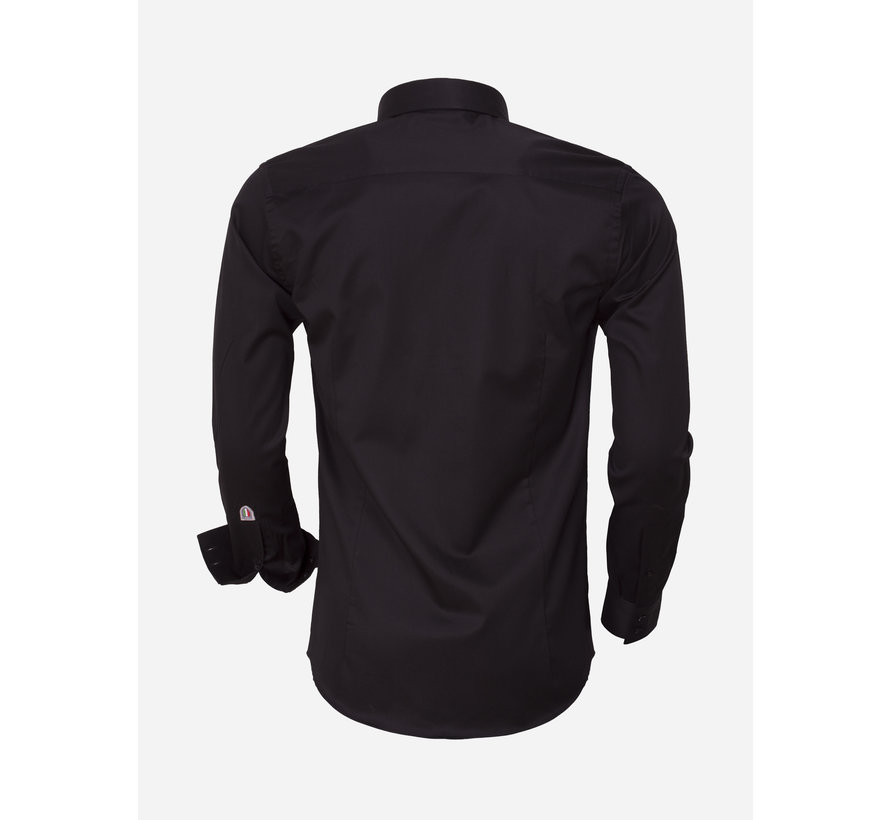 Overhemd Lange Mouw  75420 Black
