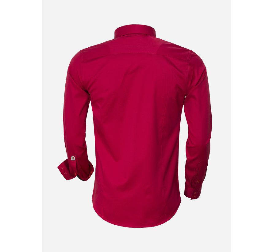Overhemd Lange Mouw 75420 Red