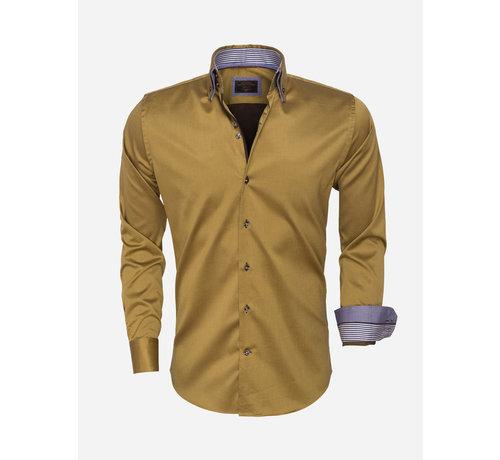 Wam Denim Overhemd Lange Mouw 75444 Peru