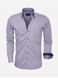 Wam Denim Shirt Long Sleeve 75451 Navy