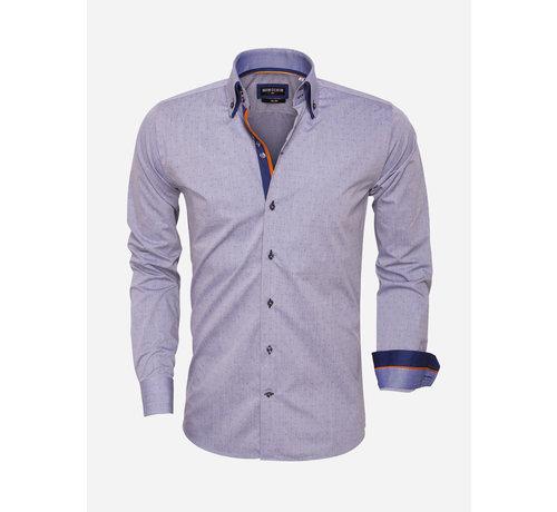 Wam Denim Overhemd Lange Mouw 75451 Navy