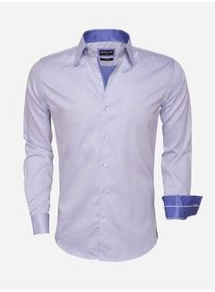 Wam Denim Overhemd Lange Mouw  75454 Blue
