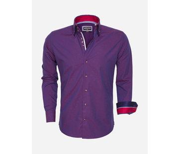 Wam Denim Overhemd 75457 Rood