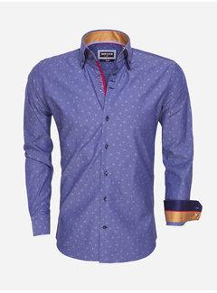 Wam Denim Overhemd Lange Mouw 75457 Navy