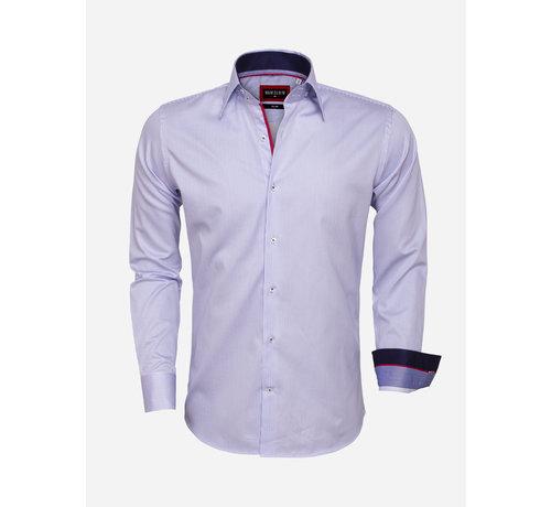 Wam Denim Overhemd Lange Mouw  75460 Blue