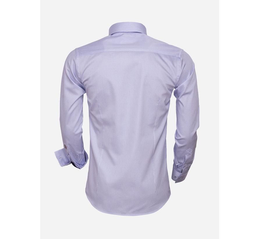 Overhemd Lange Mouw  75460 Blue