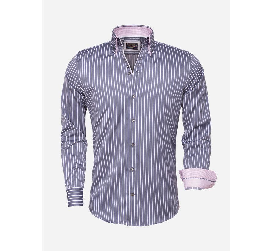 Shirt Langs Short 85265 Steel Grey