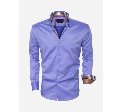 Wam Denim Overhemd Lange Mouw 95003 Blue