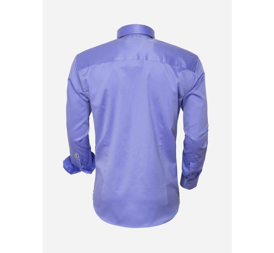 Overhemd Lange Mouw 95003 Blue