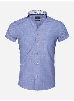 Gaznawi Overhemd Lange Mouw 65037 Royal Blue