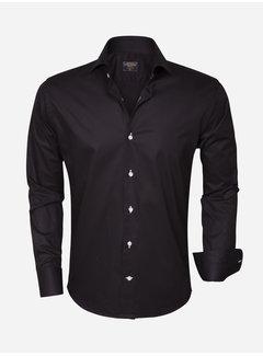 Wam Denim Overhemd Lange Mouw 75290 Black