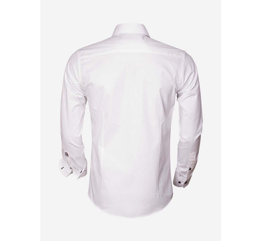 Overhemd Lange Mouw 75290 White