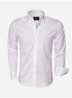 Wam Denim Overhemd Lange Mouw 75426 White
