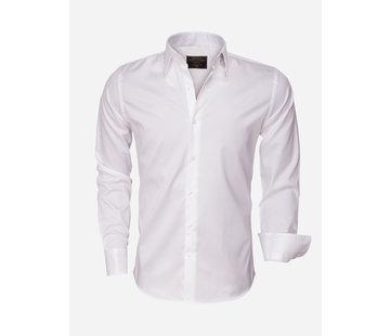 Wam Denim Shirt Long Sleeve 75426 White