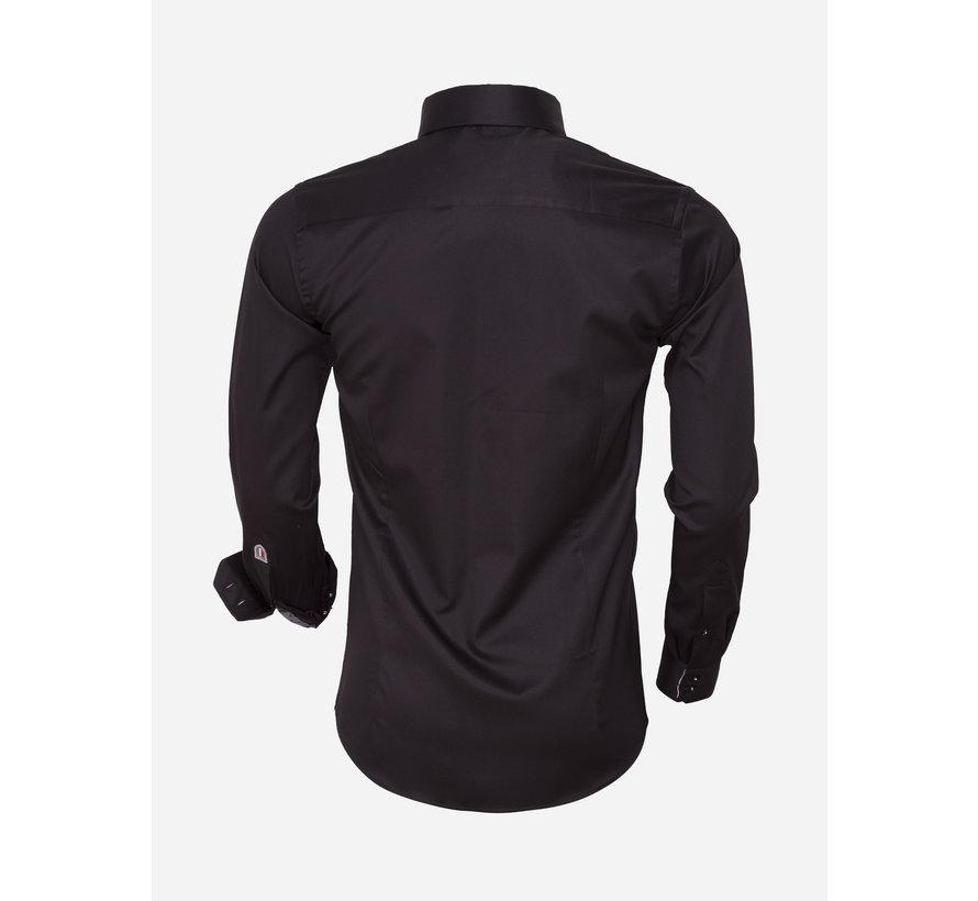 Shirt Longs Sleeve 75445 Black