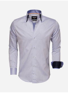 Wam Denim Overhemd Lange Mouw 75499 Blue